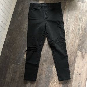 American Eagle | Black Super Hi-Rise Jegging